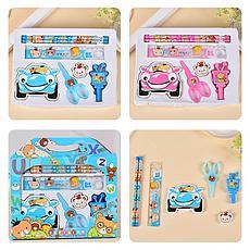 Канцелярский набор для дошкольников 7 предметов Интерактивные игрушки!, фото 3