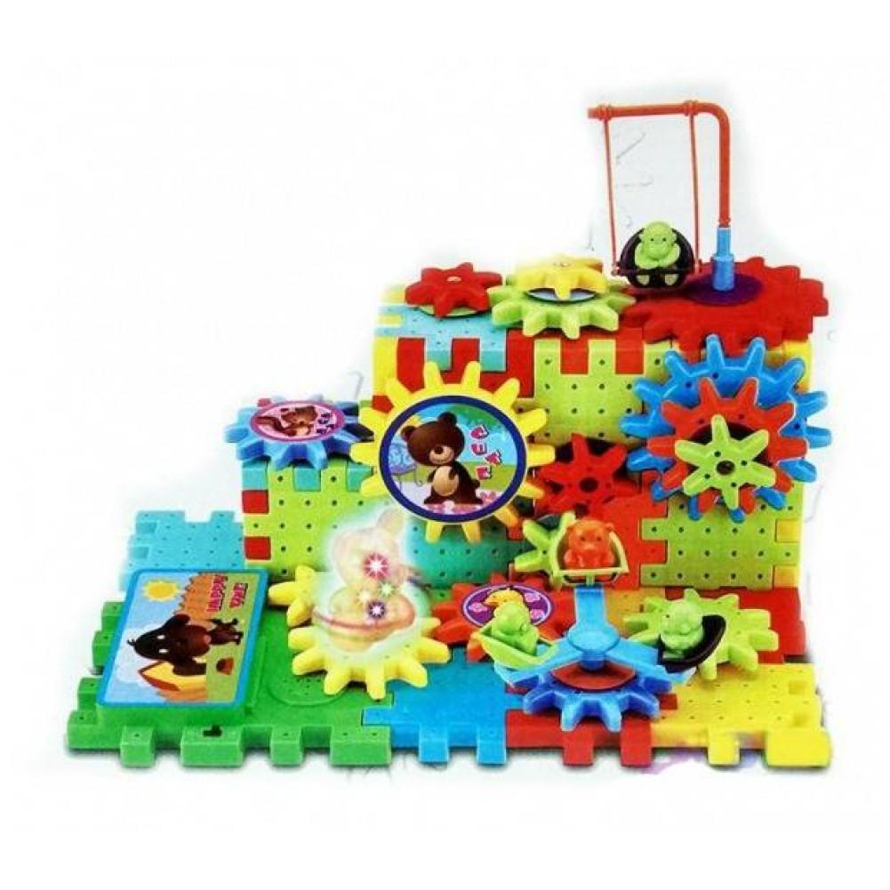Светомузыкальный конструктор Building Block 81 предмет Интерактивные игрушки!