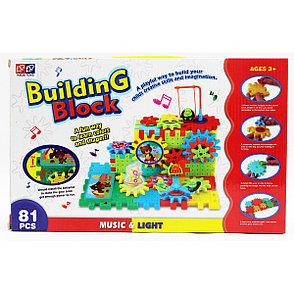 Светомузыкальный конструктор Building Block 81 предмет Интерактивные игрушки!, фото 2