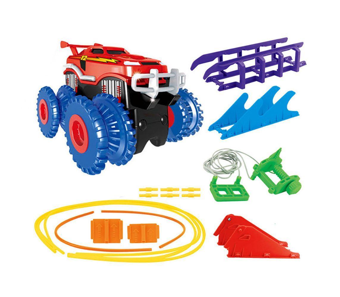 Игрушечный набор с машинкой Монстр Трак Интерактивные игрушки!