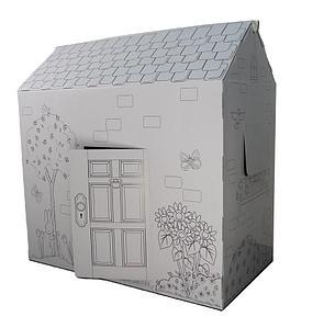 Игровой домик раскраска Интерактивные игрушки!, фото 2