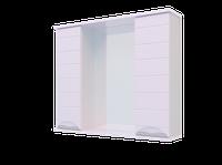Шкаф навесной, Water World, 800, 80*70*17(Вероника, Белый снег, Молочный глянец)(4603750000000)