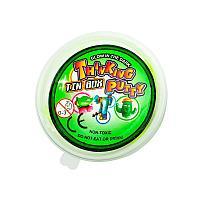 Умный пластилин светящийся в темноте PUTTY, цвет зеленый Интерактивные игрушки!