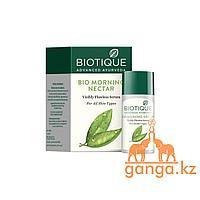 """Увлажняющая сыворотка """"Утренний Нектар"""" для всех типов кожи (Bio Morning Nectar BIOTIQUE), 40 мл."""