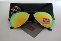 RAY BAN круглые солнцезащитные очки