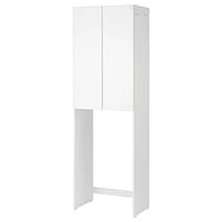 Шкаф для стиральной машины ФИСКОН белый 64x40x203 см ИКЕА, IKEA