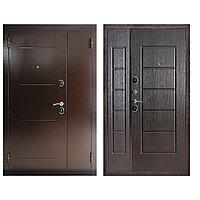 Дверь входная Ferroni Гарда 75 Антик Медь/Венге двухстворчатая (1200 мм)