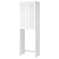 Шкаф для стиральной машины ФИСКОН Йельсен  белый 64x40x203 см ИКЕА, IKEA