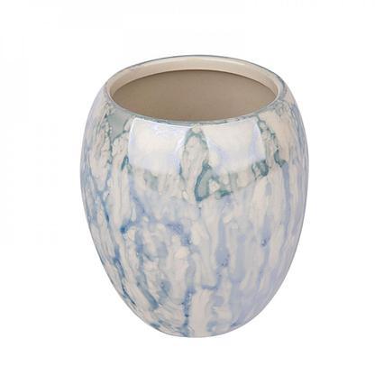 Стакан для зубных щеток керамика Аквалиния Birdie CE1115-TB синий, 300, CE1034B-TB