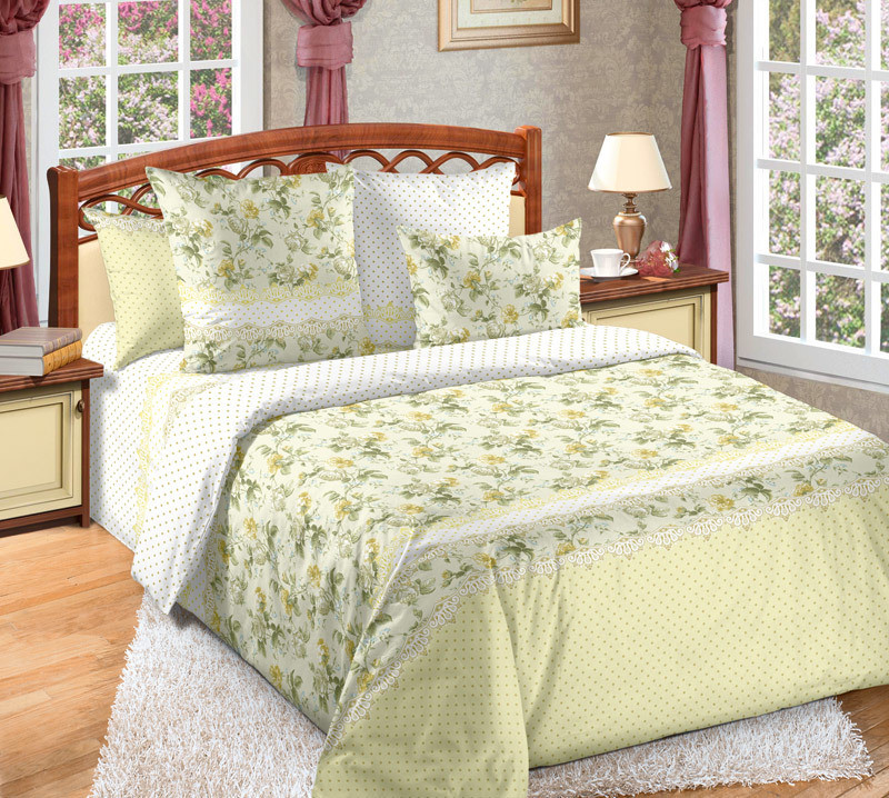 ТексДизайн Комплект постельного белья Юность, 1.5 спальный , бязь