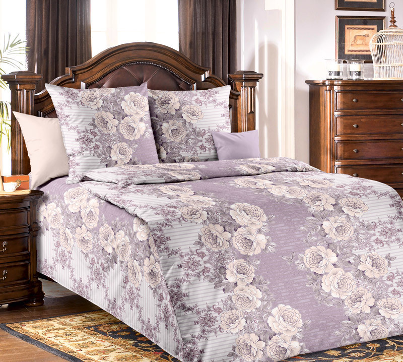 ТексДизайн Комплект постельного белья Элегант 1, 1.5 спальный , бязь