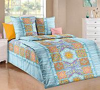 ТексДизайн Комплект постельного белья Санторини 1, 1.5 спальный , бязь
