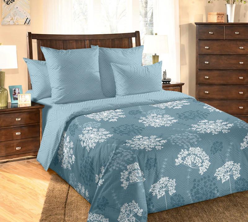 ТексДизайн Комплект постельного белья Фенхель 3, 1.5 спальный , бязь