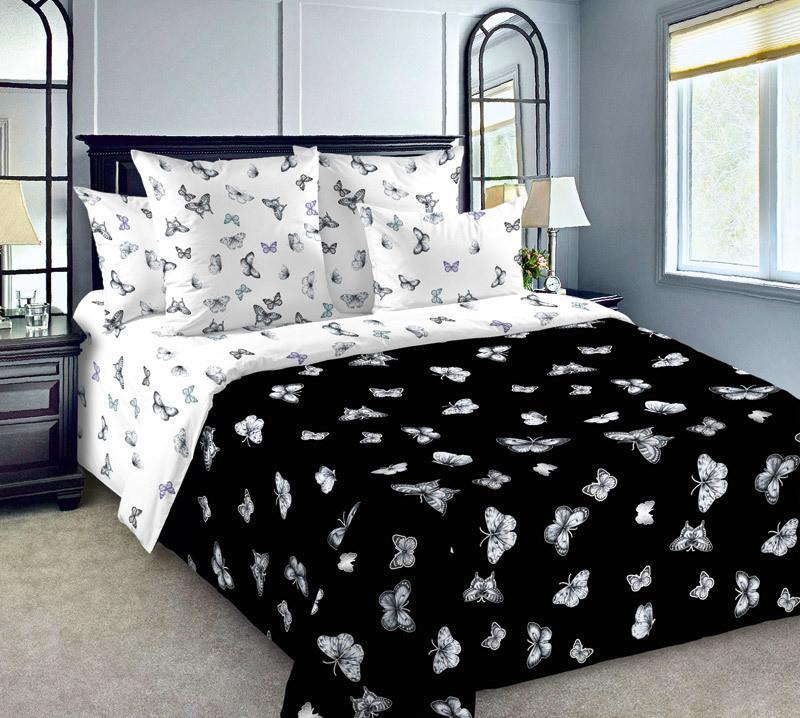 ТексДизайн Комплект постельного белья Трепетная красота 1, 1.5 спальный , бязь