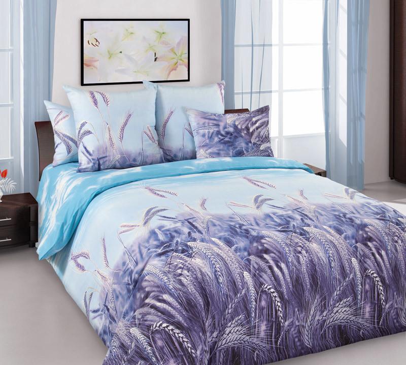 ТексДизайн Комплект постельного белья Утренние лучи 2, 1.5 спальный , бязь