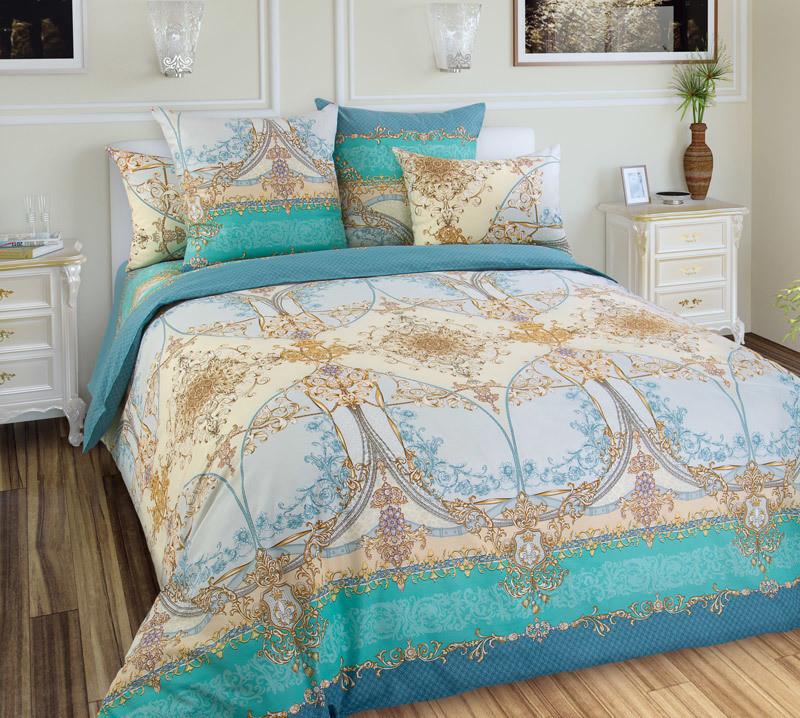 ТексДизайн Комплект постельного белья Стелла 2, 1.5 спальный , бязь