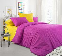 ТексДизайн Комплект постельного белья Яркая астра,  дуэт(семейное), перкаль ТексДизайн(Россия),