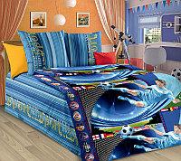 ТексДизайн Комплект постельного белья  Пенальти, 1.5 спальный , бязь