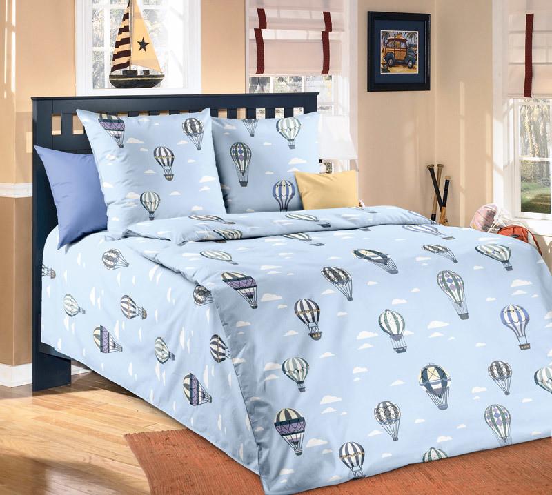 ТексДизайн Комплект постельного белья  Покорители небес, 1.5 спальный , бязь