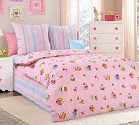 ТексДизайн Комплект постельного белья  Сластёна, 1.5 спальный , бязь