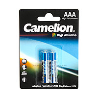 Батарейка CAMELION Digi Alkaline LR03-BP2DG 2 шт. в блистере