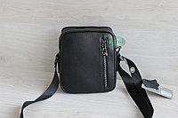 Мужская кожаная барсетка сумка через плечо НТ