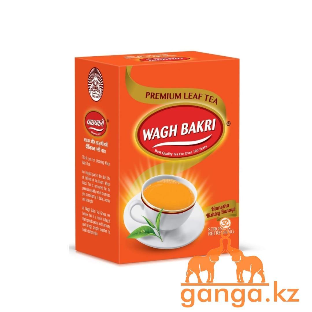 Листовой черный чай (Premium Leaf Tea WAGH BAKRI), 250 гр