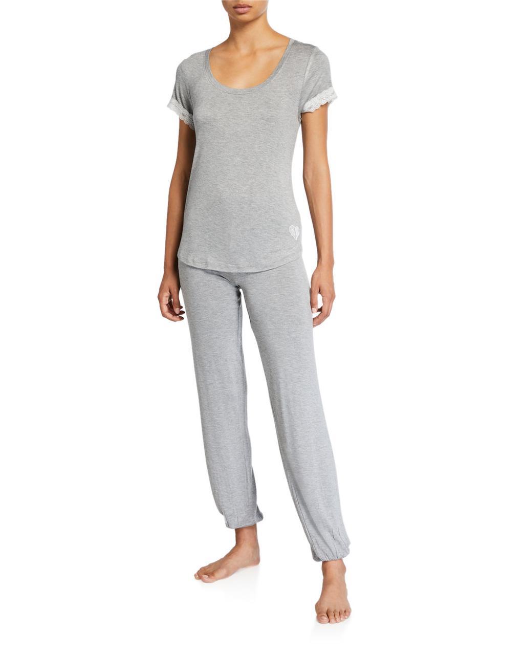 Betsey Johnson Женская пижамная футболка