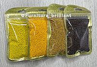 Бисер калиброванный желтых оттенков