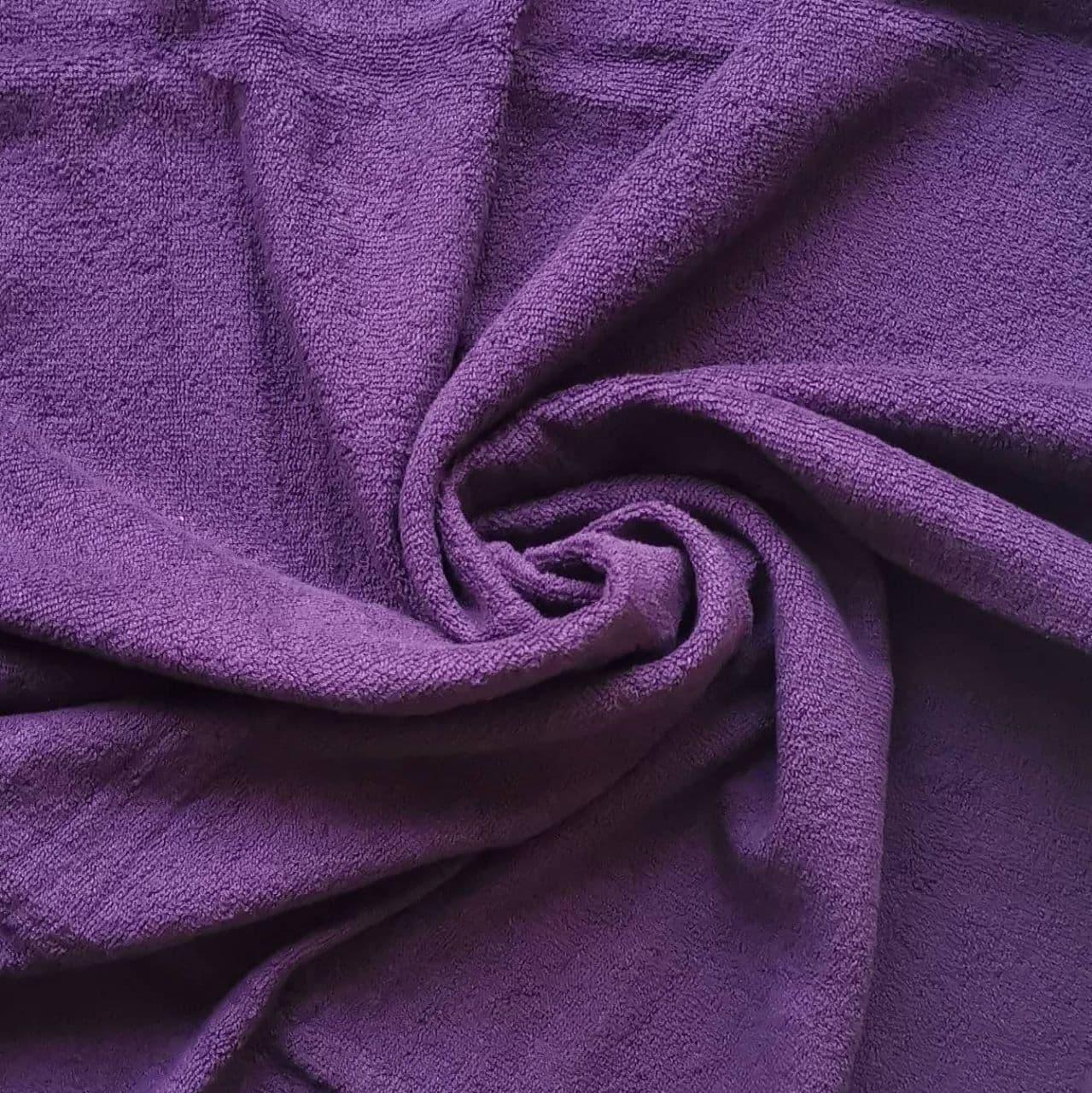 Банное полотенце 140х70 см (Фиолетовое)