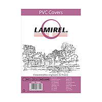 Обложки Lamirel Transparent A4 LA-78680, PVC, прозрачные, 150мкм, 100шт