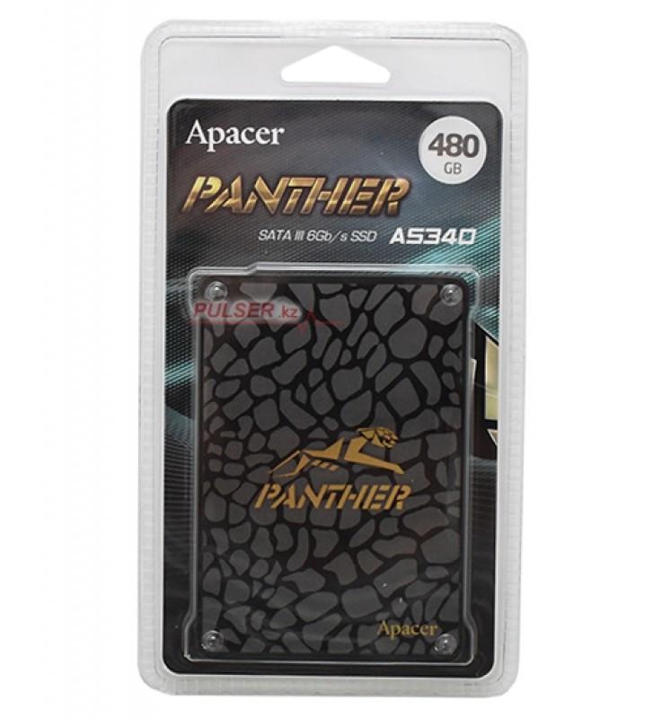 Твердотельный накопитель SSD Apacer Panther AS340, 480 GB - фото 2
