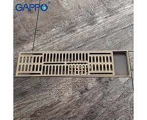 Трап душевой бронза G83001-4