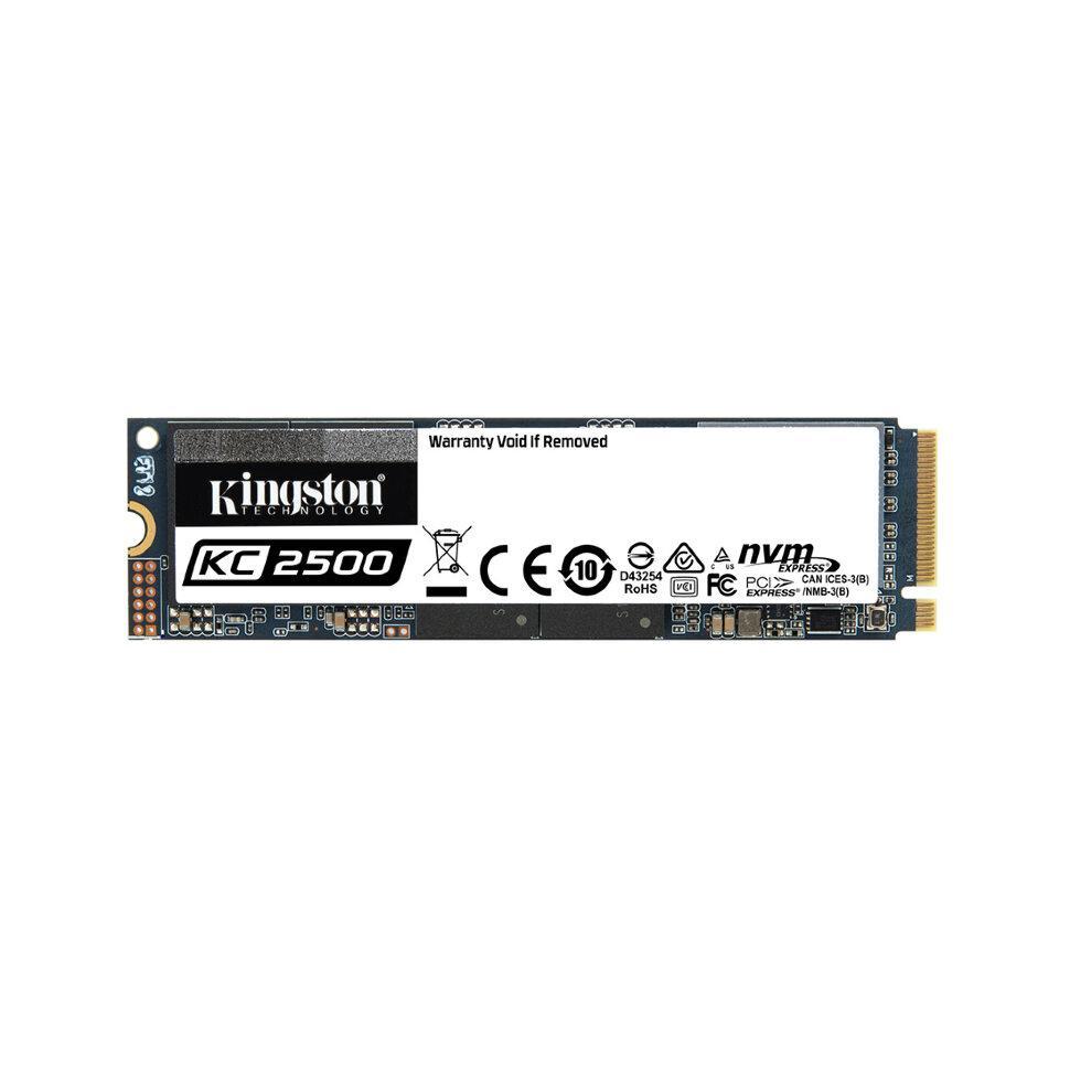 Твердотельный накопитель SSD Kingston SKC2500M8/500G M.2 NVMe PCIe 3.0x4 - фото 2