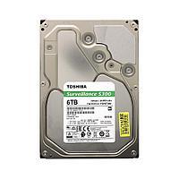"Жёсткий диск для видеонаблюдения HDD 6Tb Toshiba SATA6Gb/s 7200rpm 256Mb 3,5"" HDWT360UZSVA"