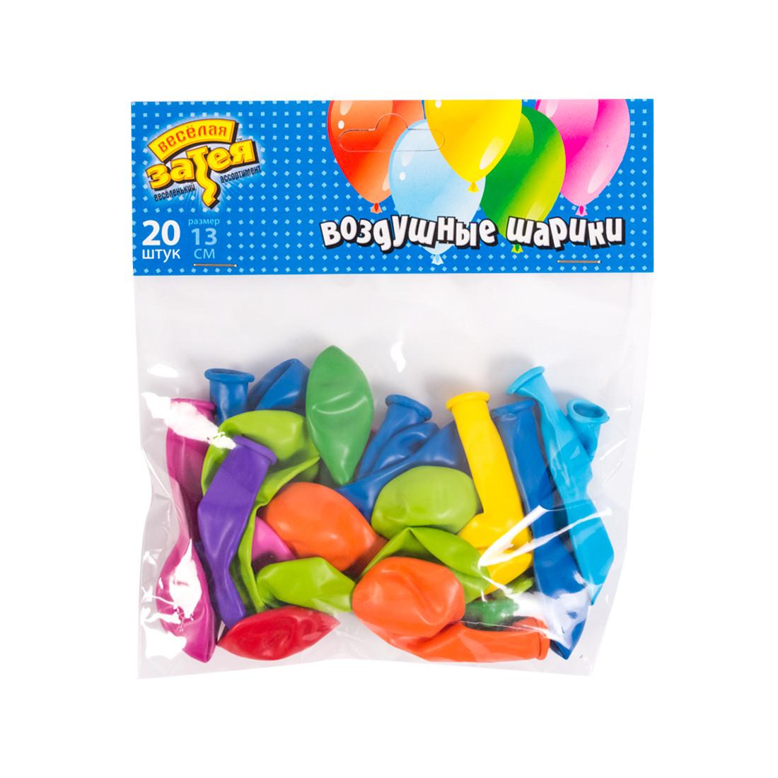 Воздушные шарики 1111-0140 (20 шт. в пакете) - фото 1