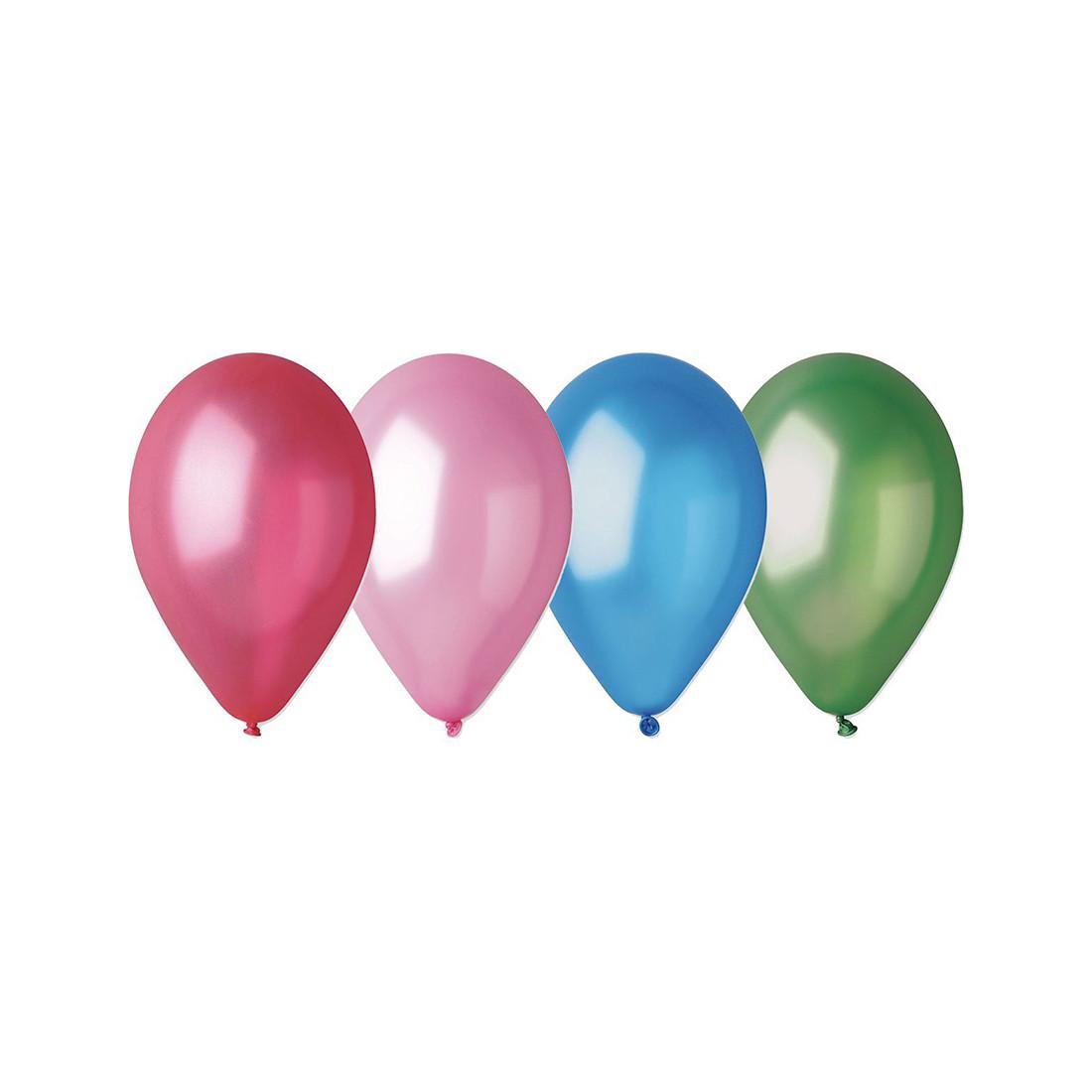 Воздушные шарики 1111-0106 (10 шт. в пакете) - фото 1
