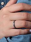 Кольцо Teosa серебро без покрытия, керамика,  ZCP-097-G размеры - 16,5 17 17,5, фото 3
