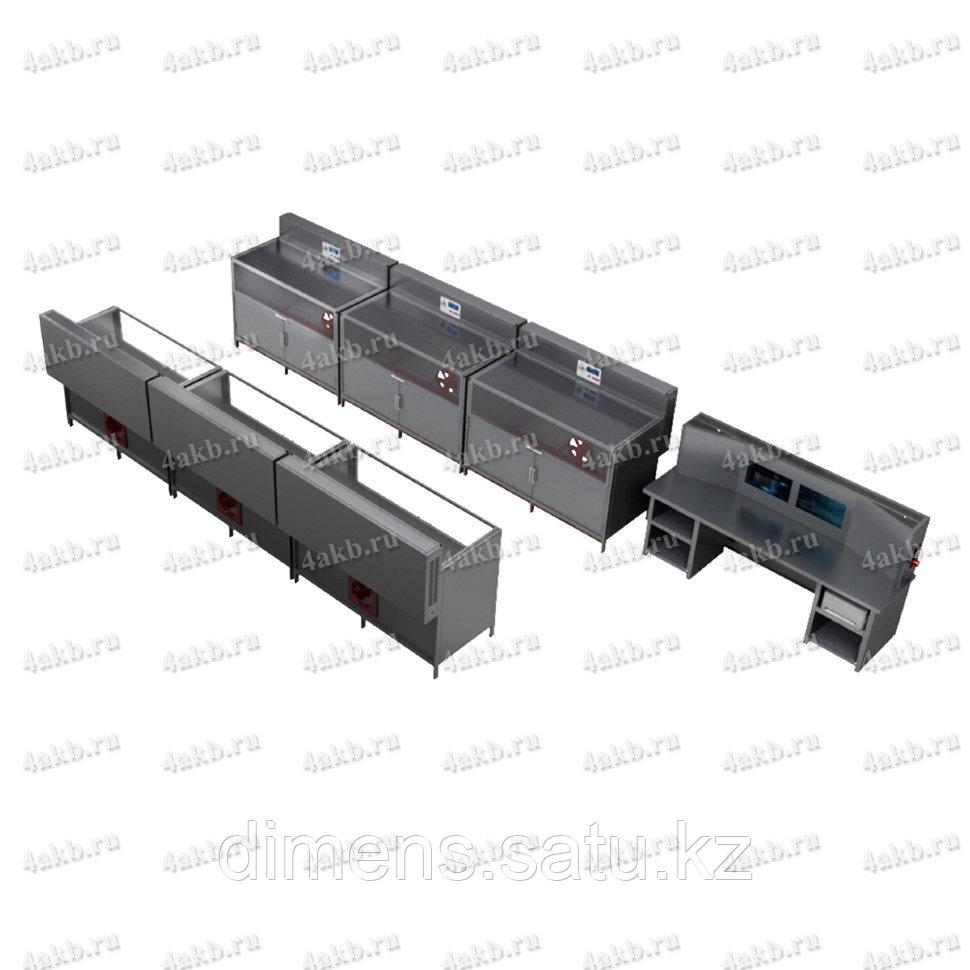 Программируемый зарядно-разрядный комплекс для заряда тяговых аккумуляторов КРОН-ПЗРК-6Т