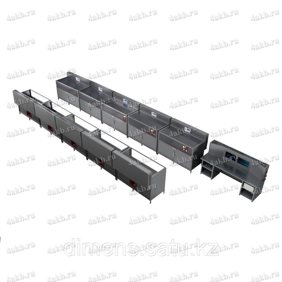 Программируемый зарядно-разрядный комплекс для заряда тяговых аккумуляторов КРОН-ПЗРК-10Т