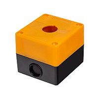 Кожух (корпус) пластиковый для кнопок Deluxe HJ9-1 (жёлтый)