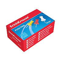 Кнопки силовые ErichKrause® цветные (коробка 50 кнопок)