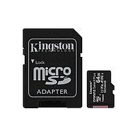 Карта памяти Kingston SDCS2/64GB Class 10 64GB, с адаптером