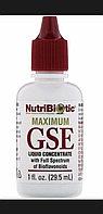 Настройка грейпфрутовой косточки. Maximum GSE, жидкий концентрат, 29,5 мл.
