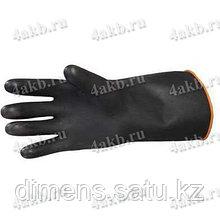 """Перчатки латекс """"Альфа-200"""" черные"""