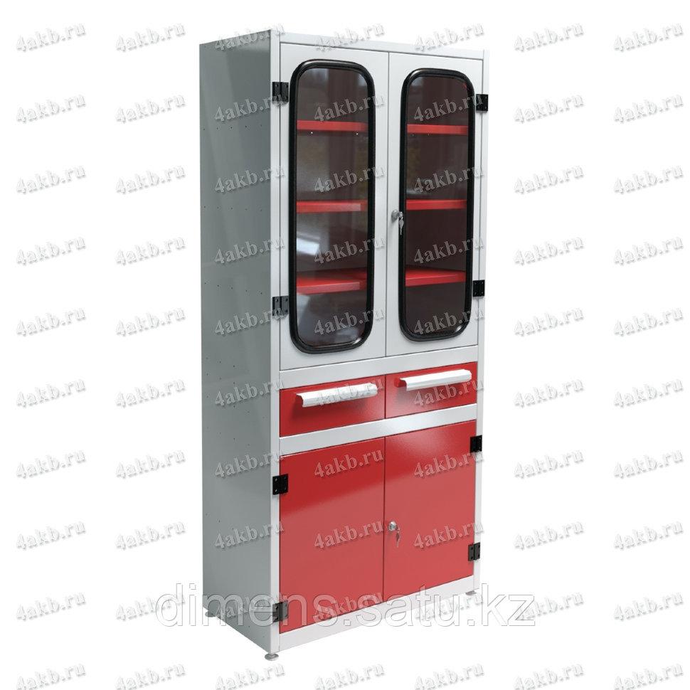 Шкаф аккумуляторщика двухстворчатый УКС-013.А.004