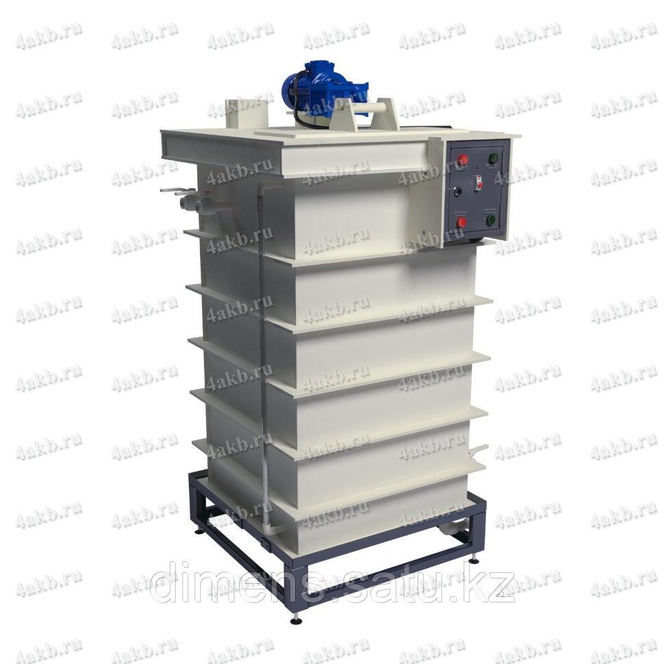 Установка для приготовления и дозирования щелочного электролита УДЭ-02
