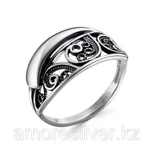 Кольцо Красная пресня серебро с позолотой, без вставок 23012426 размеры - 18