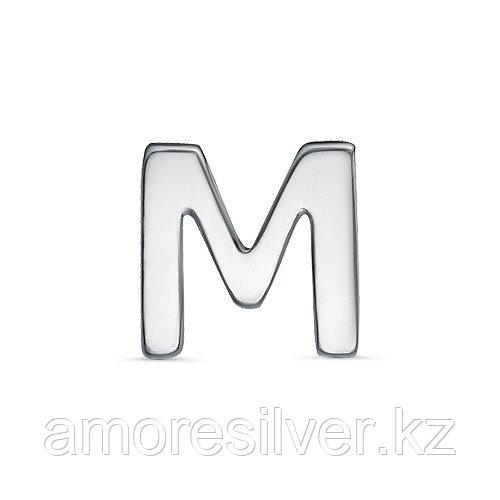 Подвеска TEOSA серебро с родием, без вставок, буква 3000-3042