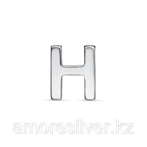 Подвеска TEOSA серебро с родием, без вставок, буква 3000-3043